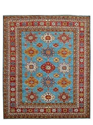 Kalaty One-of-a-Kind Kazak Rug, Blue, 8' 1