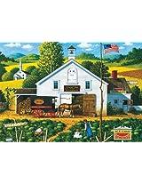 300 Piece Charles Wysocki Catchin Bugs Jigsaw Puzzle By Buffalo Games