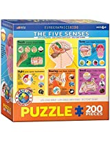 Euro Graphics Five Senses Jigsaw Puzzle (200 Piece) By Eurographics Toys