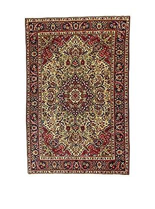 L'Eden del Tappeto Teppich M.Tabriz rot/mehrfarbig 300t x t200 cm
