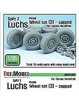 Def Model 1:35 German Luchs 8 X8 Pirxlli Sagged Wheel Set 3 Tacom Revell Dw35083