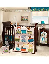 Bedtime Originals 3 Piece Crib Bedding Set, Choo Choo