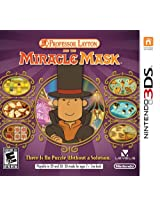 Professor Layton and The Miracle Mask - Nintendo 3DS
