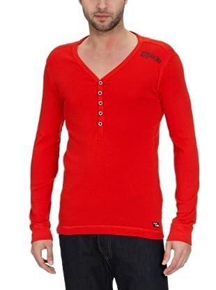 JACK & JONES T-Shirt Bridge Slim Fit (Rojo)