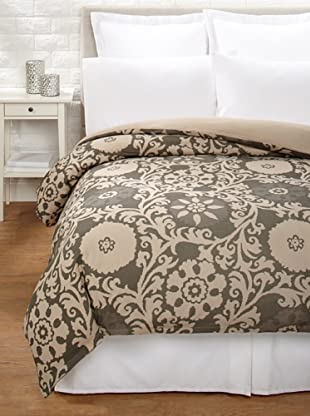 Amity Home Mariah Duvet Cover (Charcoal/Natural)