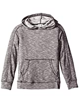 Splendid Little Boys' Loose Knit Slub Pullover, Dark Grey, 7