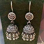 92.5 sterling silver small jhumkis