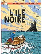TINTIN PETIT FORMAT 7 L'ILE NOIRE (Aventures de Tintin)