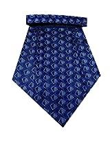 Navaksha Micro Fibre Nevy Blue Cravat
