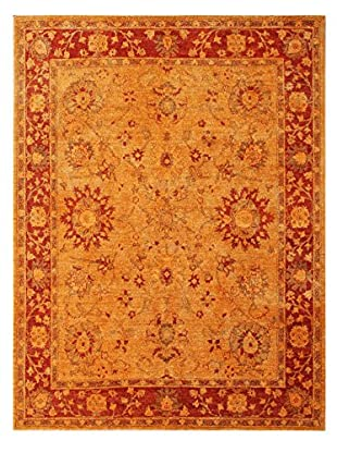 nuLOOM One-of-a-Kind Vintage Hand-Knotted Overdyed Rug, Mandarin, 6' 5