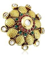 Ashiana Brass Ring Women Multi-Colour