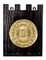 Handmade Brown Wood Polished Vintage Keys Holder By Rajrang