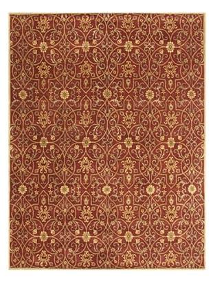 Alliyah Rugs Ornate Rug (Rust/Gold)
