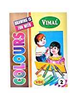 Vimal colors activity book. Part : 2