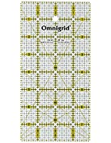 Omnigrid 4-Inch by 8-Inch Quilter's Ruler