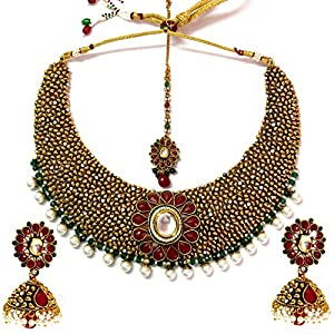 Daamak Jewellery Ethnic Style Necklace Set