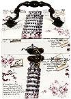 UberLyfe Vintage Style 3 Level Jewellery Box and Organizer - Tower of Pisa