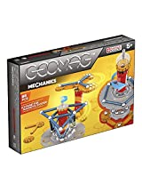 Geomag 86-Piece Mechanics Construction Set - Mentally Stimulating for Children and Adults - Safe and High Quality Construction - For Ages 5 and Up