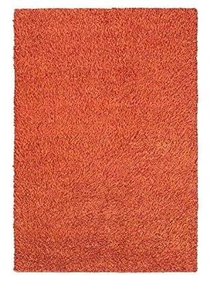Hand-Knotted Nouveau Shag, Copper, 5' 7