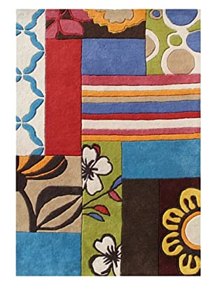 Alliyah Rugs New Zealand Wool Rug (Multi)