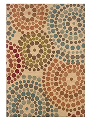 Granville Rugs Aiden Rug (Cream/Multi)