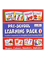 Creative's Pre - School Learning Pack 1 (Shapes,Colours, Numbers,Alphbet) 1007
