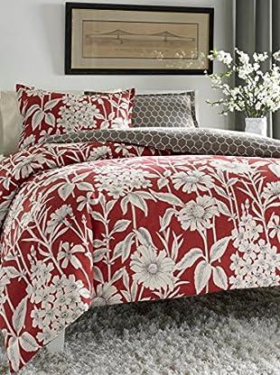 City Scene Cecilia Reversible Comforter Set