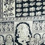 Black Kalamkari Cotton Saree With blouse piece