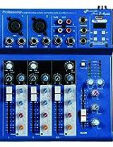 NX Audio Proton F4USB Live Sound 4Ch Mixer