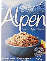 Alpen Cereal No Added Sugar, 560g