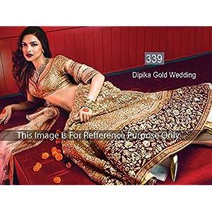 Posharc Deepika Padukone Lehenga Choli - Gold