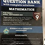 Oswal CBSE question bank class 9 for Term 1