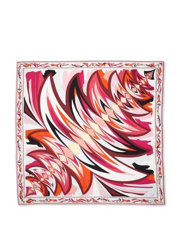 Emilio Pucci Women's Flare Square Scarf (Fuchsia)