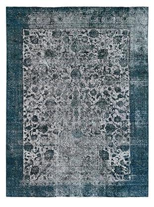 Kalaty One-of-a-Kind Pak Vintage Rug, Gray/Blue, 9' x 12' 4