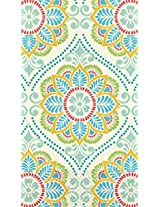 """Amscan Summer Tapestry Disposable 2 Ply Paper Guest Towels Tableware, 7.7 X 4.3"""", Multi"""