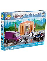 COBI Action Town Bank Robbery Building Kit