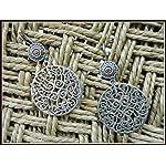 92.5 Silver Filigree Earrings
