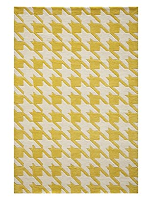 Momeni Delhi Collection Rug, Yellow, 5' x 8'