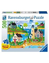 Summer by The Sea Jigsaw Puzzle, Large Format, 500-Piece