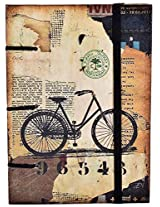 Craft Club Bicycle with Special Binding Notebook, 7 x 5 inches, 144 Pages