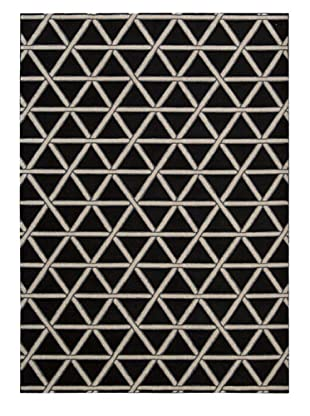 Kathy Ireland Home Metro Crossing Rug (Onyx)