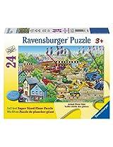 Ravensburger Busy Building Floor Puzzle (24 Piece)