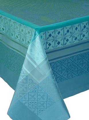 Garnier-Thiebaut Isaphire Tablecloth (Emeraude)