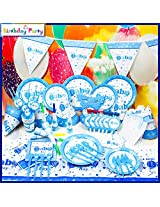 Funcart A Little Baby Boy Theme Combo (Pack of 90 Pcs.)