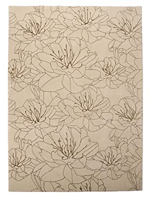 Kathy Ireland Home Wildflowers Rug (Bisque)