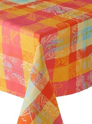 Garnier-Thiebaut Mille Panache Tablecloth (Paradise)
