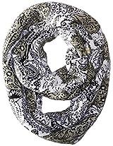 San Diego Hat Company Women's Lace Intarsia Infinity Scarf