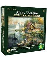 Karmin International Nicky Boehme Peaceful Mooring Puzzle (1000-Piece)