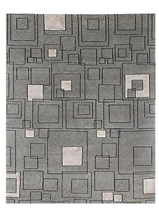 Jaipur Rugs Jali Hand Knotted Rug (Medium Gray/Ebony)