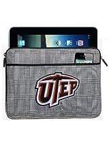 UTEP Miners IPAD SLEEVE or UTEP TABLET Case Stylish Plaid